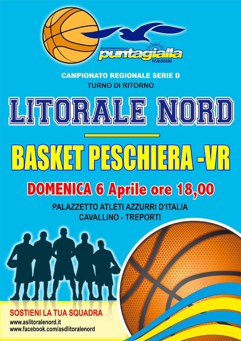 Manifesti Basket  14