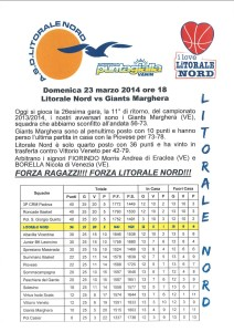 Litorale Nord vs Giants Marghera FRONTE_lo