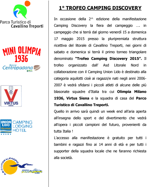 Trofeo Camping Discovery